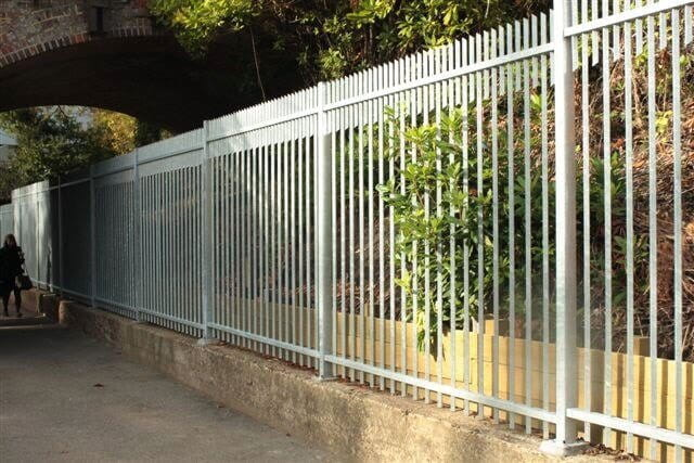 Barbican Extra Galvanised Security Fencing